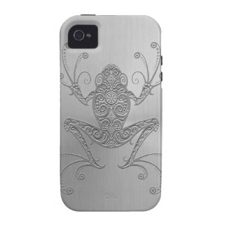 Stainless Steel Tree Frog Case For The iPhone 4