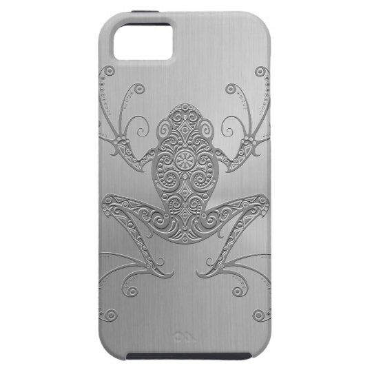 Stainless Steel Tree Frog iPhone SE/5/5s Case