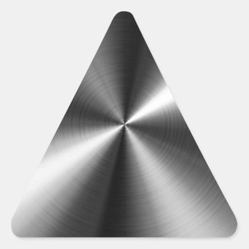 Stainless Steel Triangle Sticker Zazzle