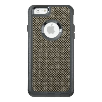 Stainless Steel Wire Mesh Pattern Otterbox Iphone 6/6s Case by CoolSenseIdea at Zazzle