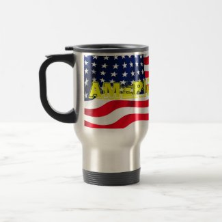 Stainless Steele Travel Mug With Lid America First