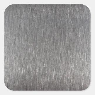 StainlessSteel.JPG Square Sticker