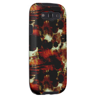 Stains in Red and Black Samsung Galaxy S3 Covers
