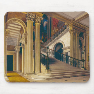Stair Case, Buckingham House, from 'The History of Mouse Pad