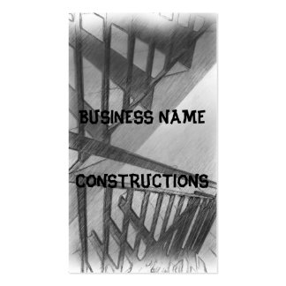 Stair drawing Double-Sided standard business cards (Pack of 100)