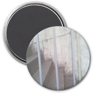 Stair, fence and wall 3 inch round magnet