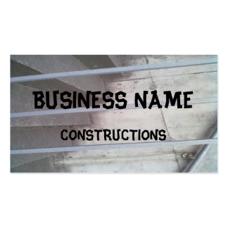 Stair, fence and wall Double-Sided standard business cards (Pack of 100)