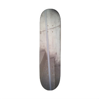 Stair, fence and wall skateboard decks
