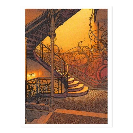 Stair Postcard