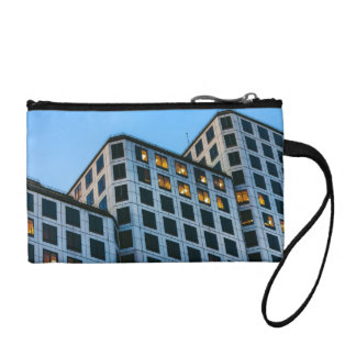 Stair-stepping Building Coin Purse