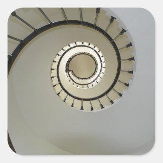staircase-2746 pegatina cuadrada