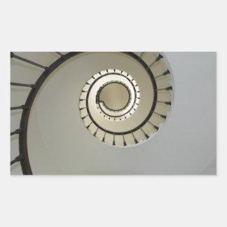 staircase-2746 pegatina rectangular