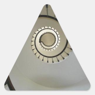 staircase-2746 pegatina triangular