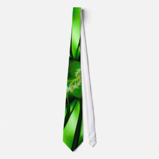 Staircase Abstract Fractal Art Tie
