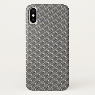 Staircase in Stairs pattern iPhone X Case