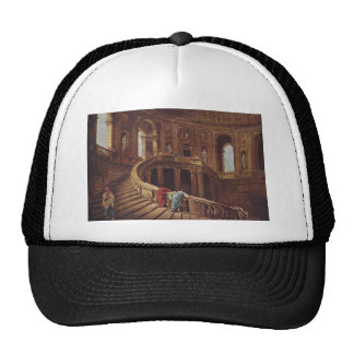 Staircase in the Palace of Caprarola Trucker Hat