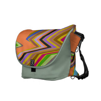 Staircase of Color Messenger Bag