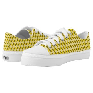 staircase pattern Low-Top sneakers