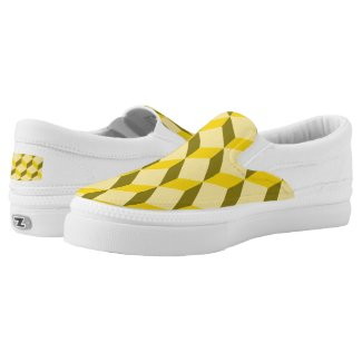 staircase pattern Slip-On sneakers