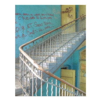 Stairs 01.0, Lost Places, Beelitz Letterhead