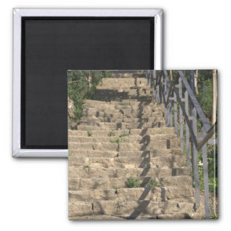 Stairs 2 Inch Square Magnet