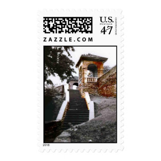 Stairs and Arches Postage
