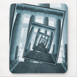 Stairs And Pillars Mouse Pad