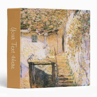 Stairs at a Country Home Painting 3 Ring Binder
