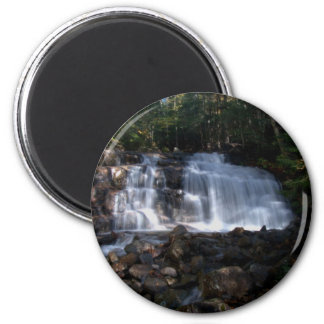 Stairs Falls 2 Inch Round Magnet