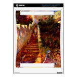 Stairs in Algier by Pierre Renoir Decals For The Xbox 360