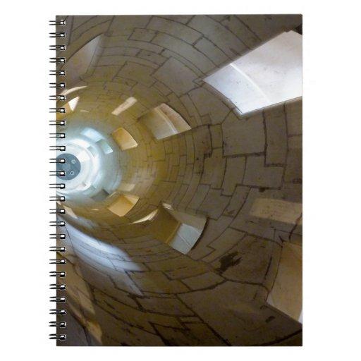 Stairs in Chambord Libros De Apuntes Con Espiral