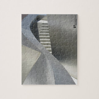 Stairs in Steel 8x10 Photo Puzzle with Gift Box