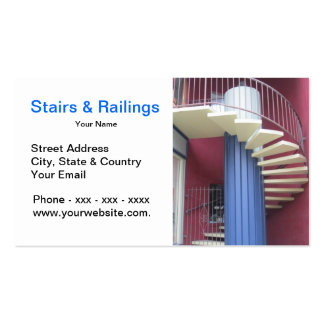 Stairs & Railings Business Card