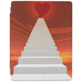 Stairs to love iPad smart cover