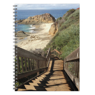 Stairs to the Beach Notebook