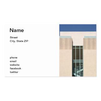 Stairs Tower Double-Sided Standard Business Cards (Pack Of 100)