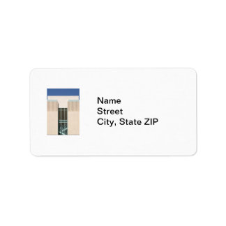 Stairs Tower Label