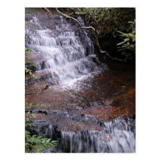 Stairstep Waterfall Postcard