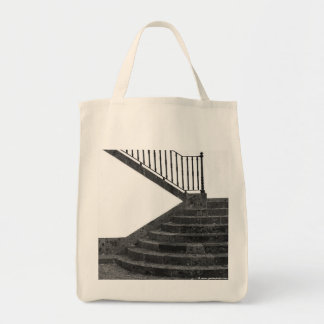 Stairway and post box tote bag