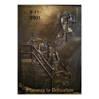 Stairway to Dedication Print