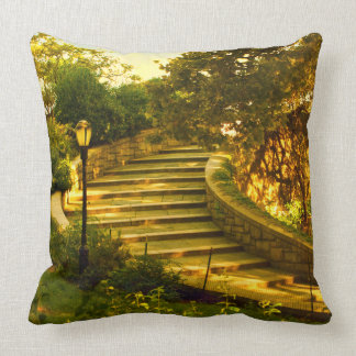 Stairway to Heaven by Madeline Ellis Throw Pillows