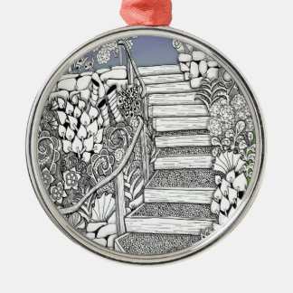 Stairway to Heaven Metal Ornament