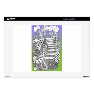 """Stairway to Heaven 15"""" Laptop Skins"""