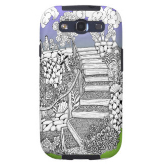 Stairway to Heaven Zentangle S3 cell phone cover Samsung Galaxy SIII Covers