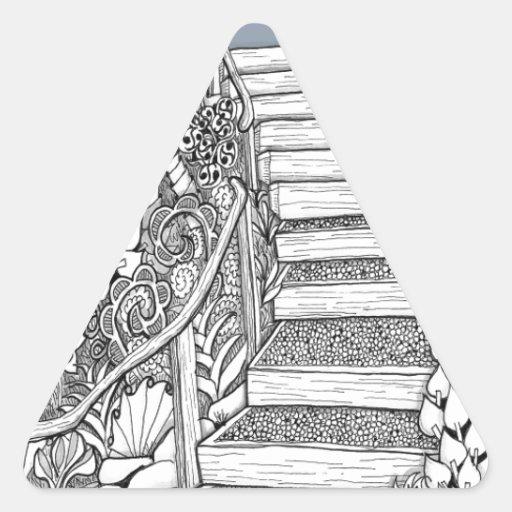 Stairway to Heaven Zentangle Sticker