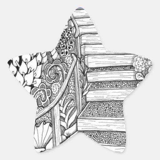 Stairway to Heaven Zentangle Stickers