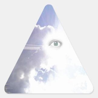 Stairway to?.jpg triangle sticker