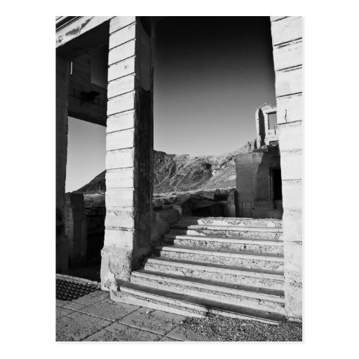 Stairway To Nowhere Postcard