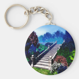 Stairway to Paradise Key Chain