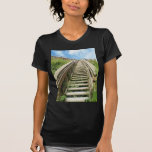 Stairway to the beach t shirts